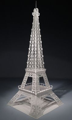 Eiffel Tower Origamic Architecture By Yees Job Via Flickr