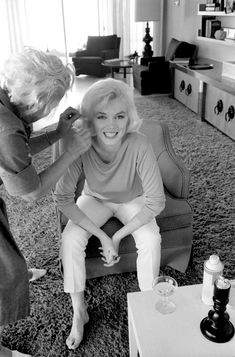 Marilyn Monroe photographer by George Barris, 1962.