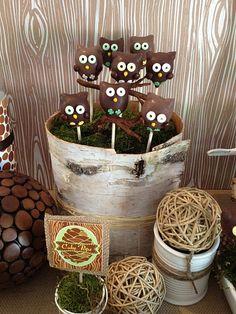 owl cake pops - @ashleyzimmer please make me these!!