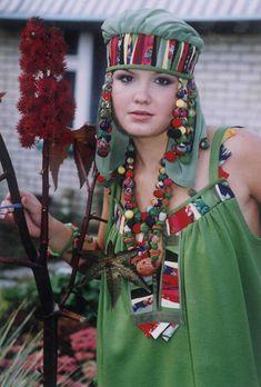 Костюмы - Народный стиль в современном авторском костюме