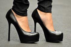 statementshoes:   Yves Saint Laurent  needs more... - Million Pair of Shoes