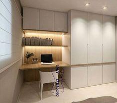 Pin by Valerie Van Vooren on bureau in 2019 | Pinterest | Home office design, Desk and Bedroom furniture design