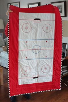 1000 Images About Hockey Quilts On Pinterest Hockey