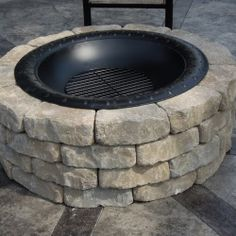 Build a firepit in less than 30 minutes!  #creativelysouthern @looksisquare