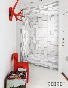 fototapeta 3d 3d Wall Murals, Photo Mural, Interiors, Space, Interior Design, Wallpaper, House, Inspiration, Home Decor