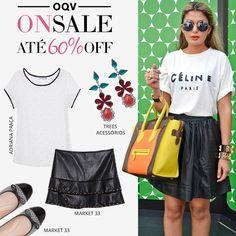 Compre moda com conteúdo, www.oqvestir.com.br #Fashion #Summer #News #Sale #Shop