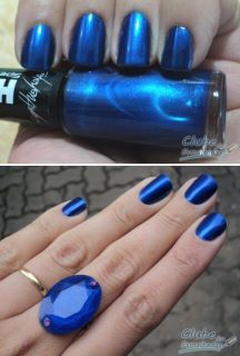 love me some Mystique blue nails :)