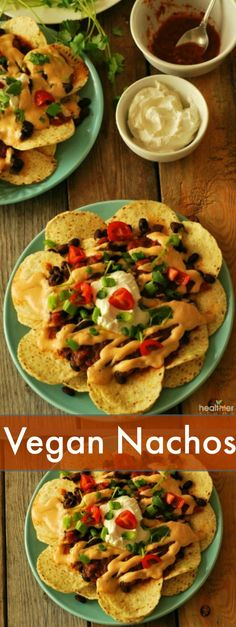 Vegan Nachos (Gluten Free) | Vegan, Vegetarian, and Gluten-Free Recipes from the Best Plant-Based Bloggers