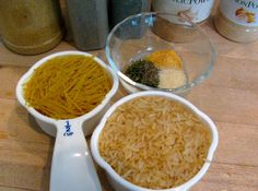 Homemade Rice-a-Roni...so simple.  I always have all of these ingredients in my pantry.