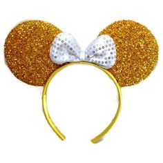 Mickey Mouse Minnie Mouse Ears Headband Sparking M1 (Gold) ($6.18) ❤ liked on Polyvore featuring accessories, hair accessories, head wrap hair accessories, gold headwrap, head wrap headband, hair band headband and mickey mouse headband