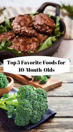 Top 5 Favorite Foods for // 10 month old baby food list // 10 month old baby food ideas // baby-led weaning month old baby food meals ideas recipes for Blw Breakfast Ideas, Baby Breakfast, Recipe For 10, My Best Recipe, 10 Month Old Baby Food, 10 Months Baby Food, Baby Meal Plan, Cooking For Beginners, Cooking Videos