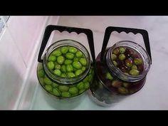 Bu Tarifle Yapılan Zeytin Asla Erimez.Kendin Yap/Yeşil Zeytin Nasıl Tatlandırılır ve Nasıl Yapılır - YouTube Arabic Food, Eggplant, Body Care, Pickles, Cucumber, Salsa, Herbs, Homemade, Vegetables