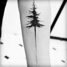 uzun ağaç dövmesi long tree tattoo