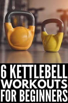 6 Fat Burning Kettlebell Workouts for Women These kettle ball workouts combine cardio and strength training for a full body workout that tightens and tones your muscle a. Fitness Hacks, Fitness Workouts, Kettlebell Workout Routines, Kettlebell Workouts For Women, At Home Workouts, Ball Workouts, Kettlebell Training, Kettlebell Circuit, Kettlebell Benefits