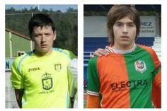 Jorge Vazquez Barcia e Marcos Mouro a Selección Corunesa sub-14