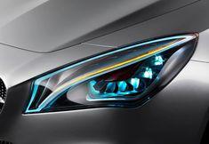 Mercedes-Benz Concept Style Coupé Kinetic Lights