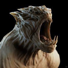 Screamer WIP4 - Mudbox 3D Sculpt by raysullivan303, via Flickr