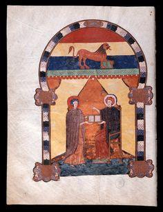Beato de Liébana: códice de Fernando I y Dña. Sancha — (16) Evangelio  de Marcos