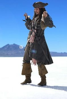 Johnny Depp can rock eyeliner like nobodies business.... Just sayin