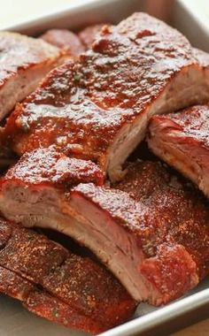 Memphis Style Dry Ribs {On the Grill or In The Oven}