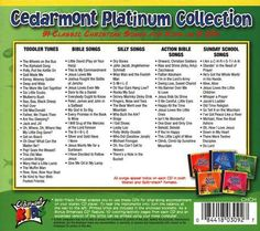 Cedarmont Platinum Collection Back Cover