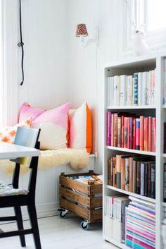 Holzkiste als schöner DIY Zeitschriftensammler