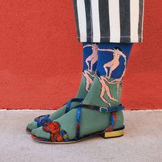 Artist socks