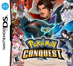 Pokemon Conquest DS Game