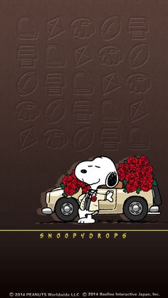 ☆Beautiful Roses🌹 Sent By Snoopy ~ Thank You Snoopy❣ Charlie Brown Y Snoopy, Snoopy Love, Snoopy And Woodstock, Snoopy Images, Snoopy Pictures, Peanuts Cartoon, Peanuts Snoopy, Snoopy Wallpaper, Iphone Wallpaper