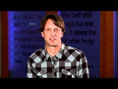 Professional skateboarder Tony Hawk talks about the importance of reading.