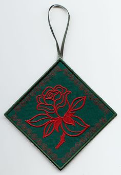 Victorian Rose Sachet (In-the-Hoop)