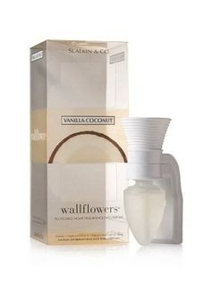 3f2d96c6b3942 Bath and Body Works Slatkin   Co Vanilla Coconut Wallflower Pluggable Home Fragrance  Diffuser Set