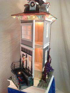 Table Lamp Doll House  Elouise by JimLarsonDesigns on Etsy, $1700.00