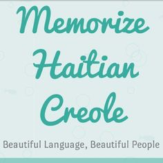 Listen to Haitian Creole | SURVIVAL WORDS (Part 1) - The First Words You Should Learn by Memorize Haitian Creole #np on #SoundCloud