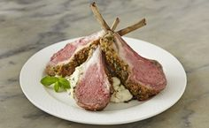 Looking for a Christmas dinner everyone will love? Try the Rack of Lamb with Wheat Germ and Herbs