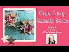 Pink Buckaroo Designs: Rustic Christmas Curvy Keepsake Box
