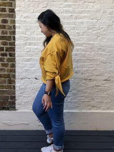 Sweater No.513 // Grasser AKA A sunshine yellow sweats set! - Self Assembly Required