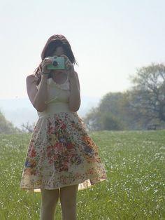 summer dress & a diana lomo