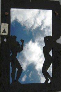 Skyclad Hand Carved Slate 76 cm x 51 cm Slate Art, Irish Art, The Rock, Body Painting, Hand Carved, Celtic, Ireland, Carving, Sky