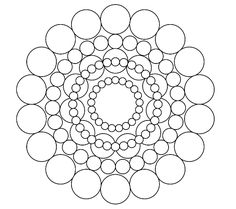 Free Adult Coloring Pages Pretty circles mandala coloring page - part of my free printable adult coloring pages series. This sheet is medium difficulty - not such a complex pattern.kids would love this printout as well. Painting Templates, Rock Painting Patterns, Dot Art Painting, Silk Painting, Templates Printable Free, Free Printable Coloring Pages, Coloring Pages For Kids, Printables, Coloring Sheets