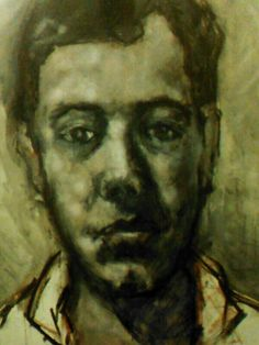 Ben Todhunter by Fred Todhunter ( unfinished ) oil on canvas