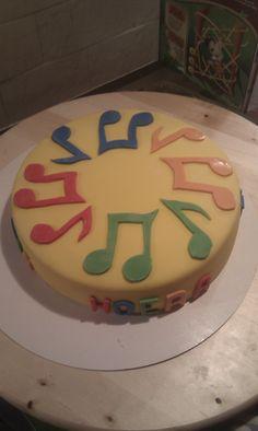Muziek taart