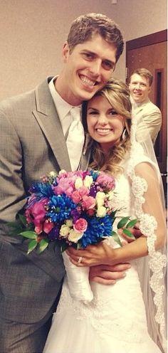 Alyssa Bates Wedding Beautiful couple // Mr Mrs John Webster
