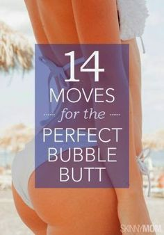 14 Exercises for Your Butt Fitness Diet, Fitness Motivation, Health Fitness, Workout Fitness, Lower Ab Workouts, Butt Workouts, Bubble Butt Workout, Fitness Exercises, Morning Workouts
