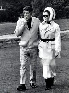 Dean with Gail Renshaw
