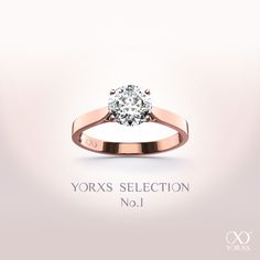 colors of springtime. discover the newest yorxs selection #yorxs #diamantring #rosegold