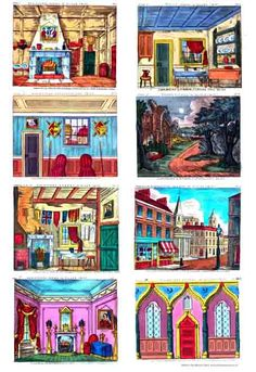 Pattern Paper - A WebsiteBuilder Website Judd Street Gallery