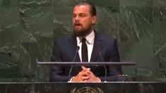 Leonardo DiCaprio's 2014 UN Climate Summit Speech no expertise........here he is addressing UN???? How much MORE crazy is our world going to get?