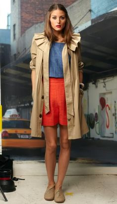 Lovely style! Perfect office outfit in summer! Argh super heart OP