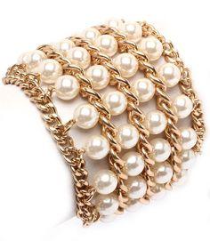 Abigail Multi Pearl Bracelet